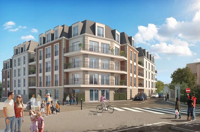 Perspective 3D - promotion de logements collectifs