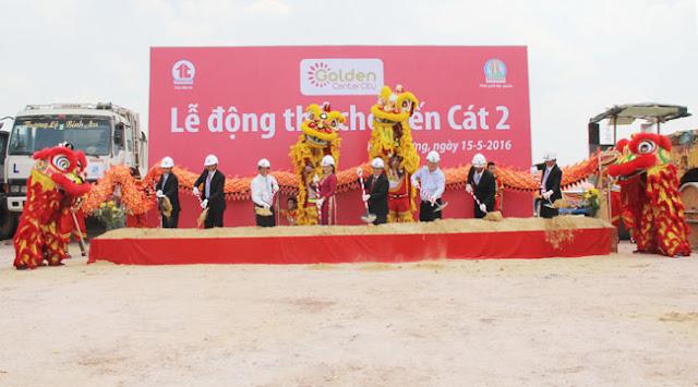 Lễ động thổ chợ bến cát 2 tại mỹ phước, thị xã bến cát, tỉnh bình dương