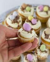 Pääsiäs mini cupcakes