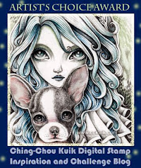 The Artist's Choice Award Winner at Ching-Chou Kuik Challenge Blog