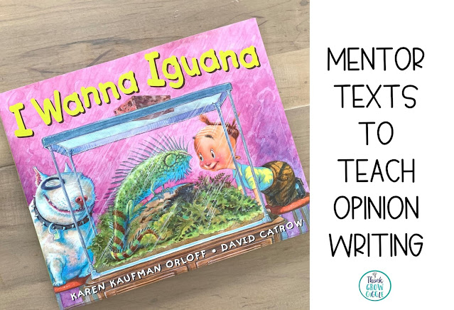 opinion writing picture books