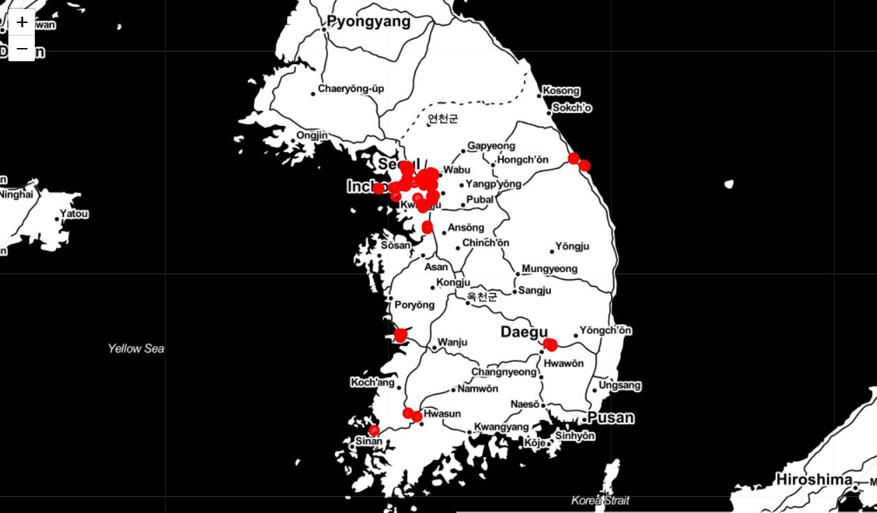 #3 - Tình trạng Corona Virus tại Hàn Quốc