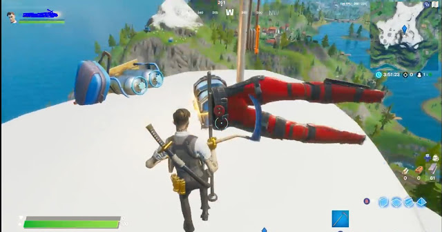 Fortnite Deadpool Pant's Location Week 9