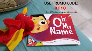 Oh My Name Customized Story book