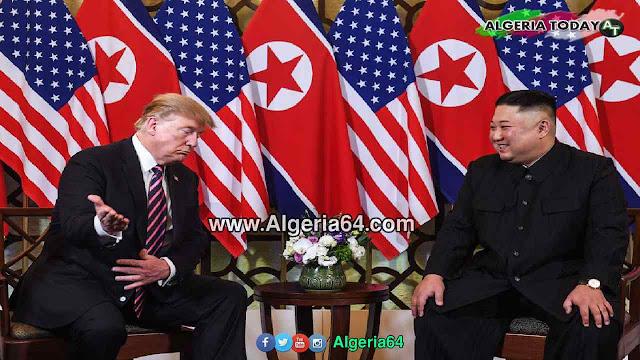 القمة الثانية بين الرئيس الأمريكي دونالد ترامب و زعيم كوريا الشمالية كيم جونج اون في الفيتنام