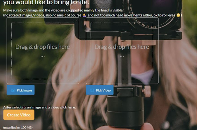 إجعل أي صورة تتكلم بصوت شخص آخر بدون برامج