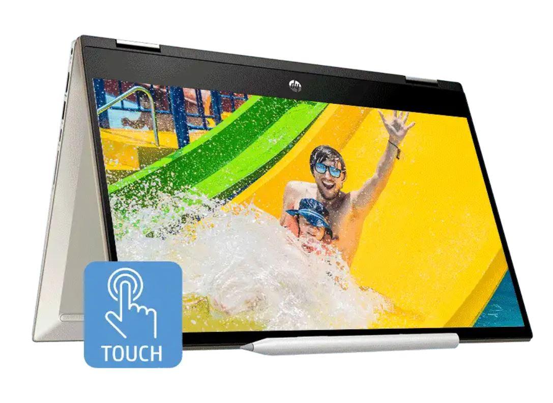 HP Pavilion x360 14 dw1023TU, Laptop Hybrid Murah Bertenaga Intel Core i3-1115G4