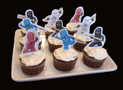 Ninjago Free Printable Cupcake Toppers Oh My Fiesta