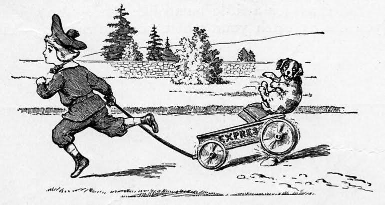 The Vintage Moth..: Antique Children's Illustration- Let's