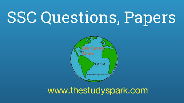 SSC Questions, Paper