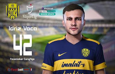 PES 2021 Faces Idriz Voca by CongNgo