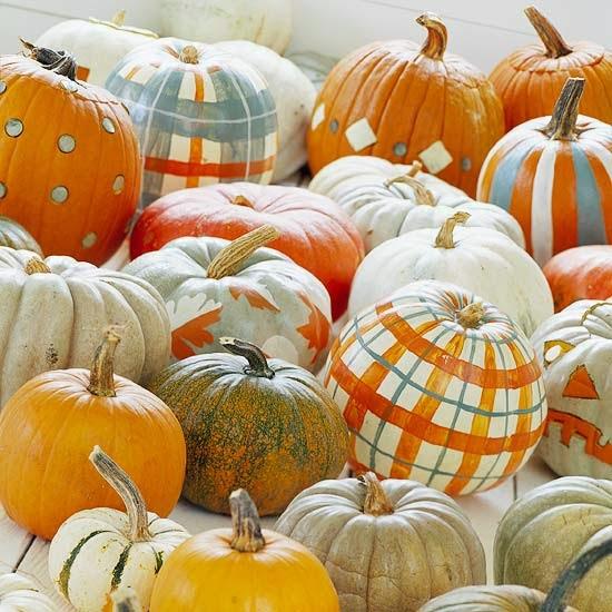 Modern Furniture: Easy Painted Pumpkins : 2013 Halloween ...