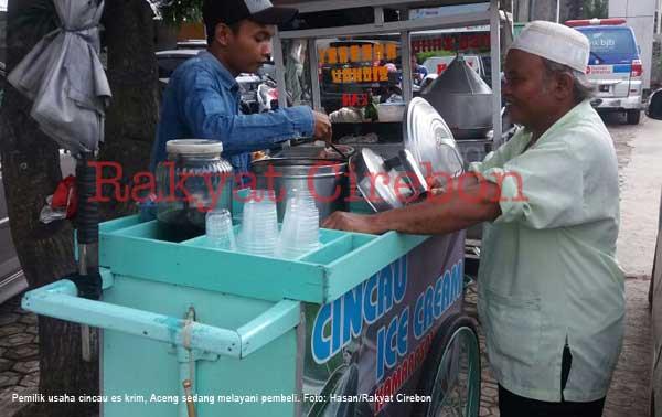 pemuda asal majalengka sukses berbisnis cincau es krim
