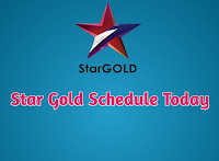 Star gold schedule today