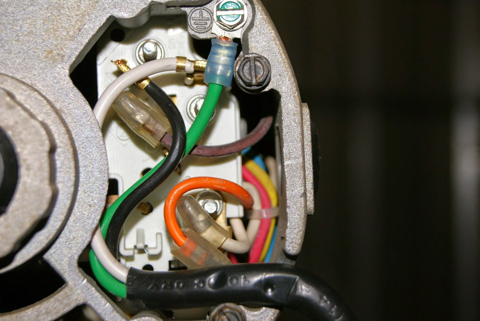 Outlet And Switch Wiring Diagram Car Damage Inspection Dog Aviation John's Rv-12 Blog: New Power For Air Compressor