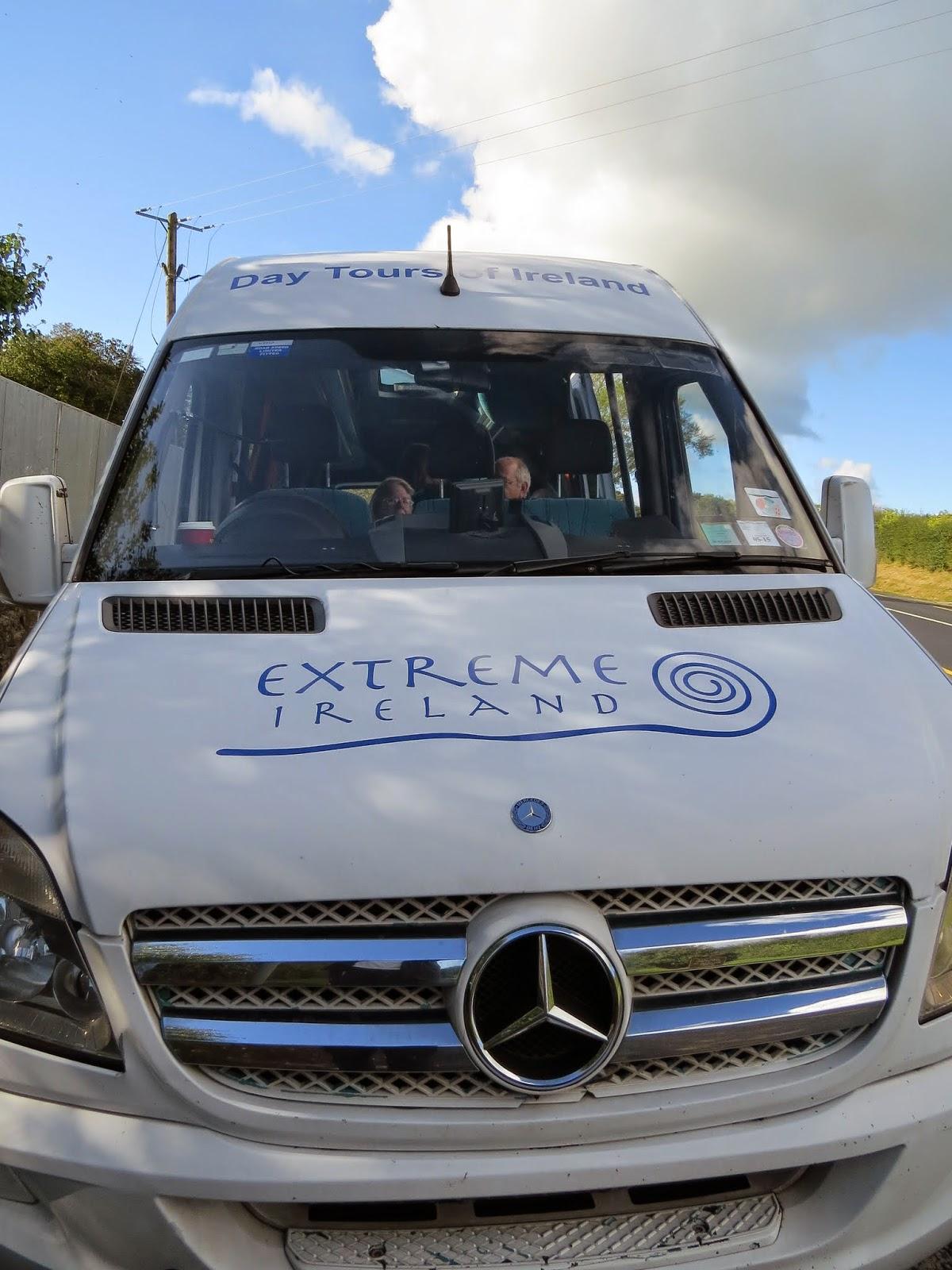 Extreme Ireland - Tour Van