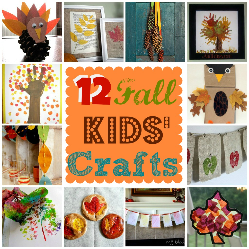 Autumn Lights Picture Autumn Kids Crafts