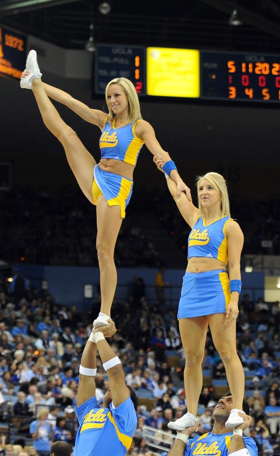 Hot college cheerleader slips that