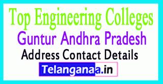 Top Engineering Colleges in Guntur Andhra Pradesh