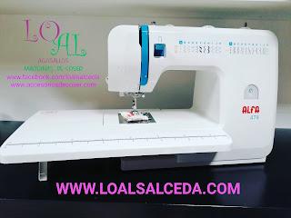 Maquina de coser Alfa 474