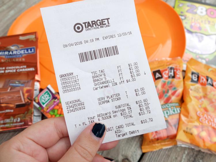 $10 at Target - October