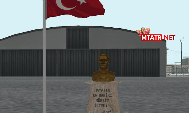 MTA SA Atatürk Büstü