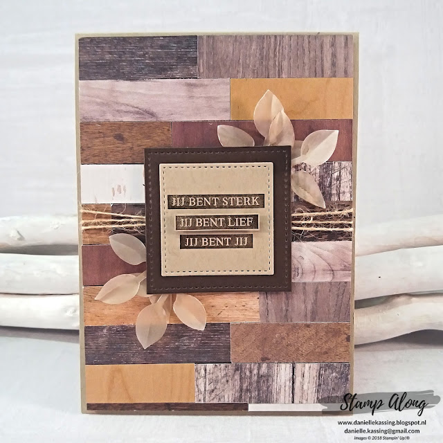 Stampin' Up! Wood Textures DSP