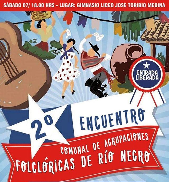 Encuentro de conjuntos folklóricos  en Río Negro
