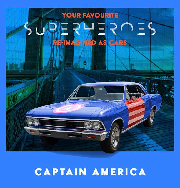 Captain America - Chevrolet Chevelle
