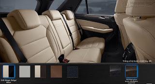 Nội thất Mercedes GLE 400 4MATIC Exclusive 2018 màu Vàng Ginger/Nâu Espresso 215