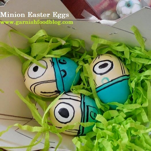 minion egg dyeing