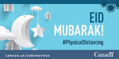 Eid Mubarak Canada