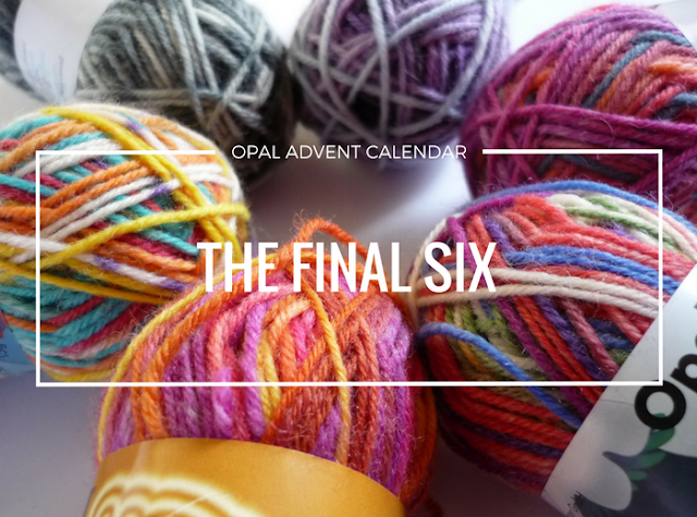 Opal Advent Calendar 2016 on Absoknittinglutely