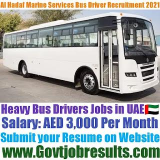 Al Hadaf Marine Services Heavy Bus Driver Recruitment 2021-22