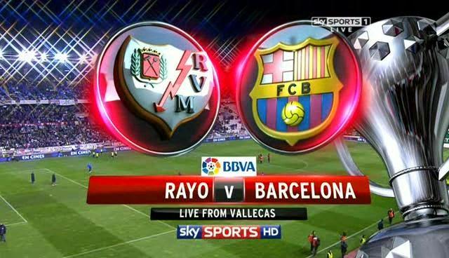 La Liga: Rayo Vallecano vs FC Barcelona: Match Preview