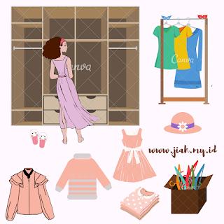 tips pakaian di lemari tetap wangi