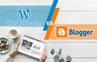 Perbedaan Ngeblog di Blogger Dengan di Wordpress