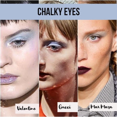 ojos tiza collage