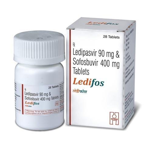 Ledifos ยาเม็ด - Sofosbuvir 400 มก และ Ledipasvir 90 มก