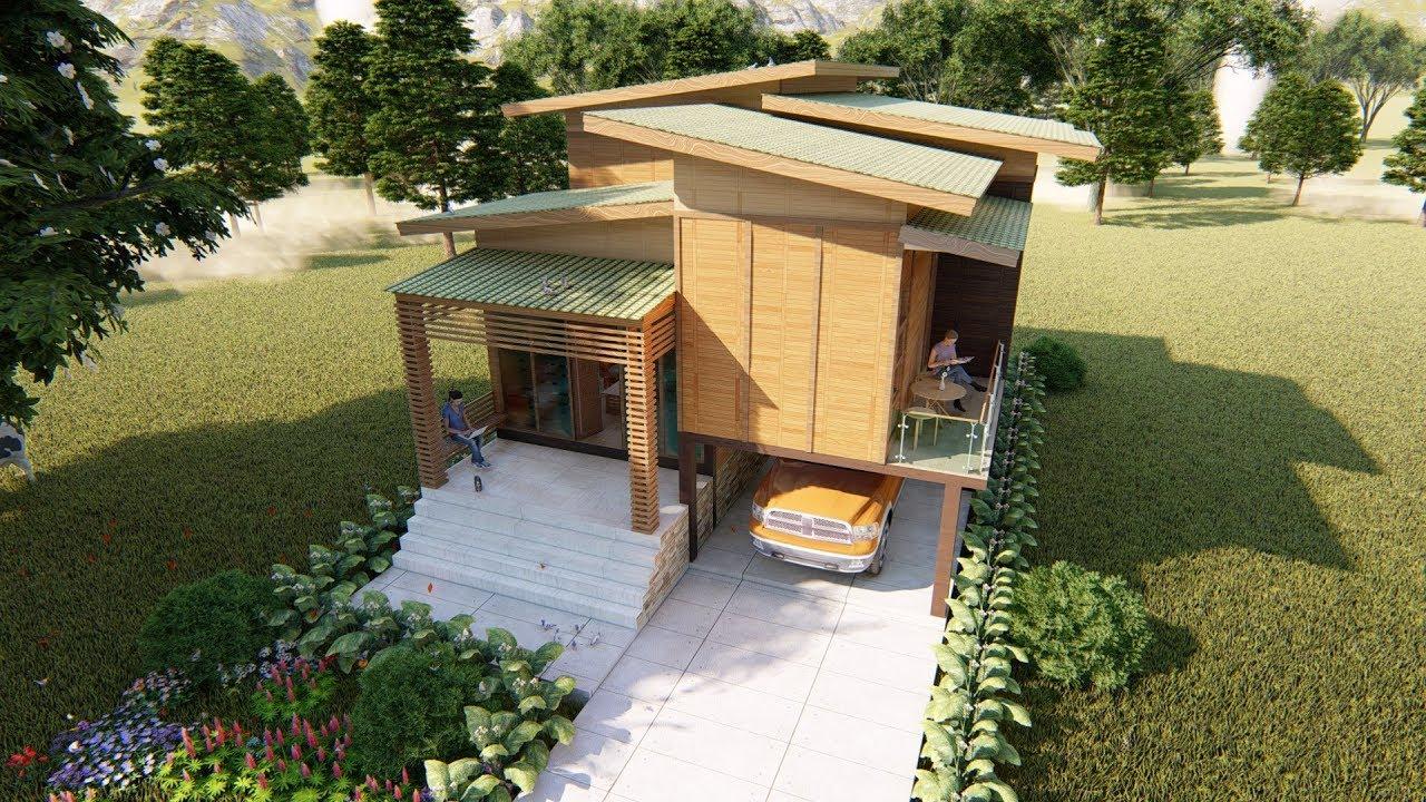 5 Ide Desain Rumah Panggung Kayu Minimalis Intip Yuk Bangizaltoy Com