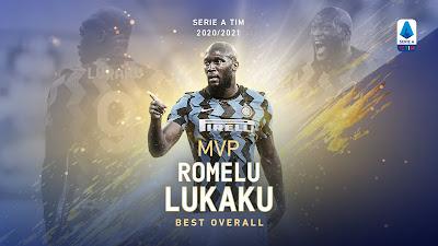نجم إنتر لوكاكو يتوج بجائزة لاعب الموسم فى الدوري الإيطالي ورونالدو أفضل مهاجم