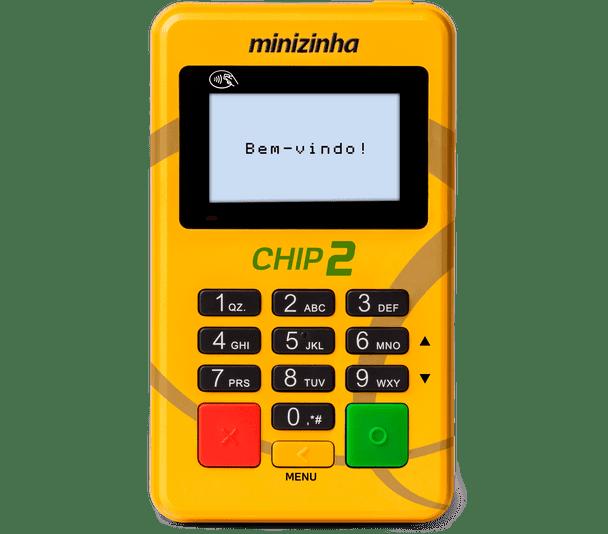 Comprar Máquina de Cartão Minizinha CHIP 2 em Promoção