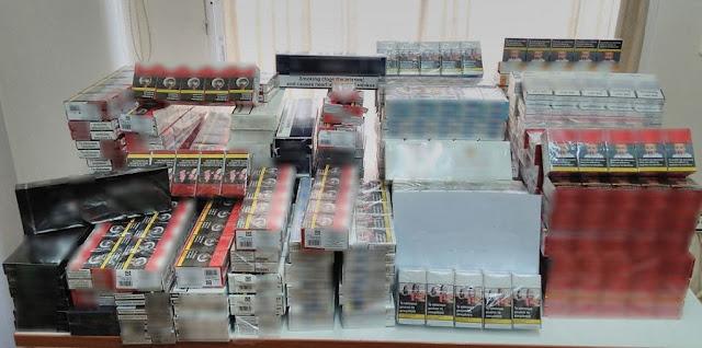Σύλληψη στο Άργος 50χρονου αλλοδαπού με 2.090 πακέτα λαθραία τσιγάρα