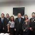Deputados Charlles Evangelista e Luciano Bivar recebem Oficiais de Justiça