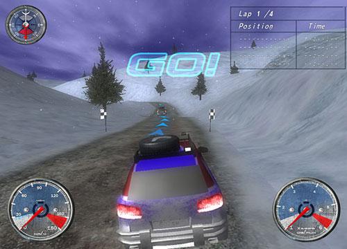 تحميل لعبة سيارات الدفع الرباعي Winter Extreme Racers