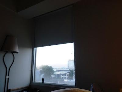 Morning View dari Kamar Hotel