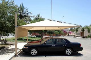 اجمل اعمال مظلات سيارات