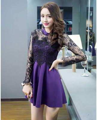 Model Dress Pendek Pesta Wanita Modern Terbaru
