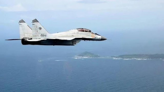 MiG-29K trainer aircraft crashes into Arabian sea; 1 pilot rescued, another missing