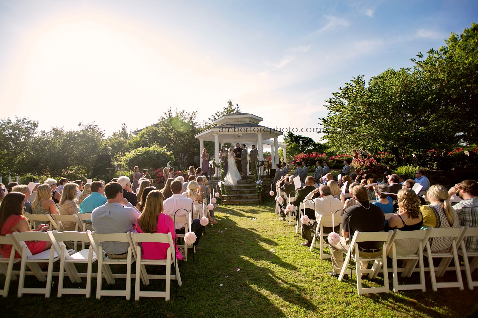 Amber Ford Photography Taylor Courtney Romantic Garden Wedding